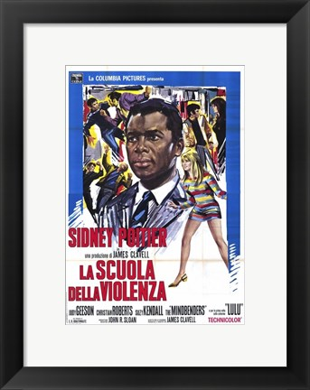 Framed to Sir with Love (movie poster) Print
