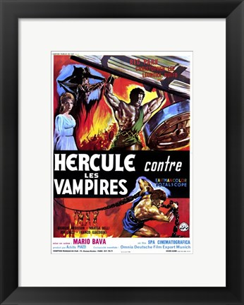 Framed Hercules in the Haunted World Print