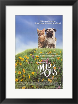 Framed Milo and Otis Print