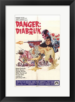 Framed Danger: Diabolik John Law Print