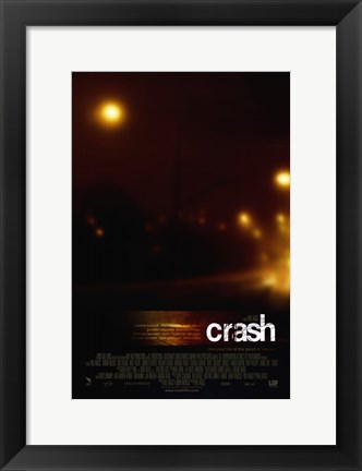 Framed Crash Bright Lights Print