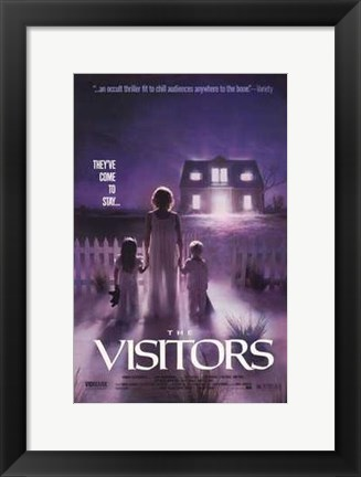 Framed Visitors Movie Print