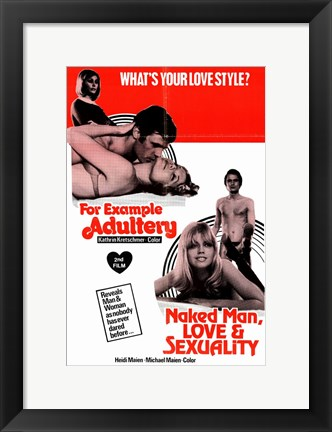 Framed for Example Adultery Print