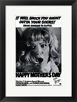 Framed Happy Mothers Day  Love George Print