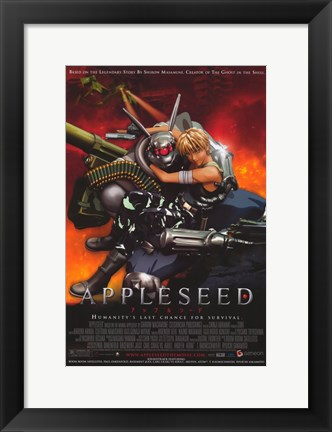 Framed Appleseed Print