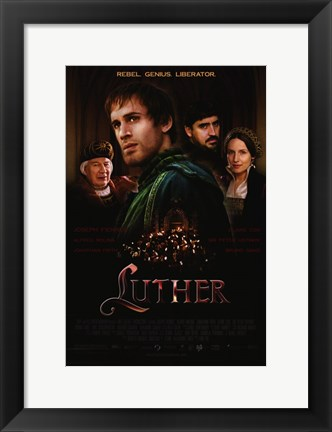 Framed Luther Print