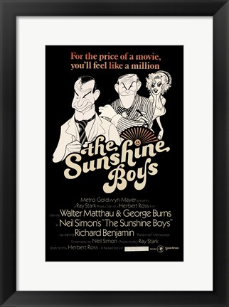 Framed Sunshine Boys Print
