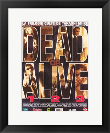 Framed Dead or Alive: Final Print