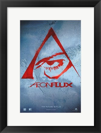 Framed Aeon Flux Print
