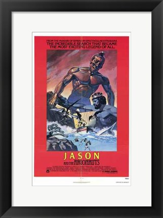 Framed Jason and the Argonauts Print