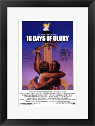 Framed 16 Days of Glory Print