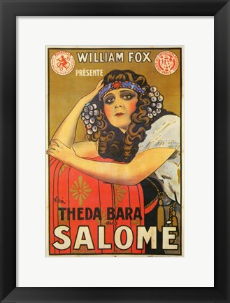 Framed Salome French Print