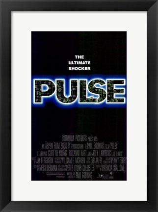 Framed Pulse Movie Print