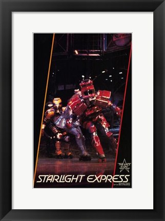 Framed Starlight Express (Broadway Musical) Print