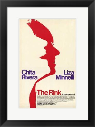 Framed Rink  the (Broadway Musical) Print