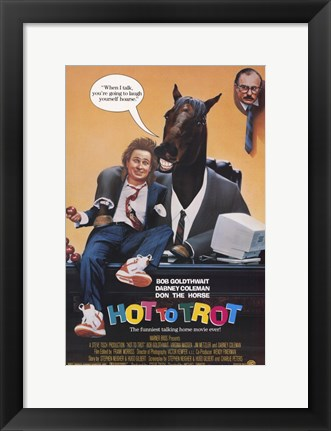 Framed Hot to Trot Print