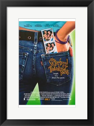 Framed Sisterhood of the Traveling Pants Print