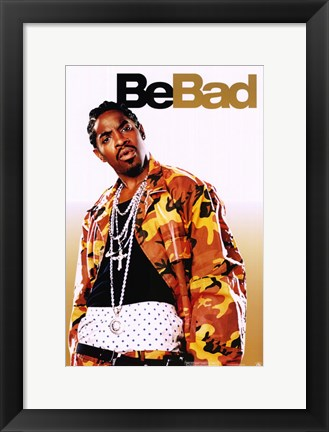 Framed Be Cool - Be Bad Print