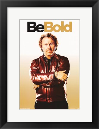 Framed Be Cool - Be Bold Print