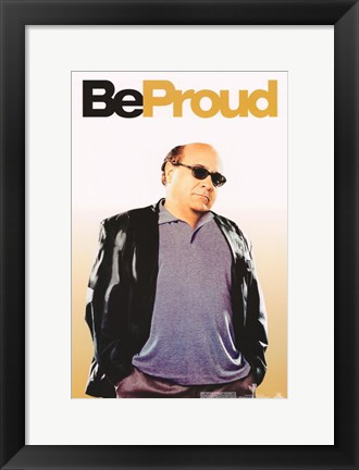 Framed Be Cool - Be Proud Print
