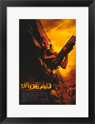 Framed Undead Print
