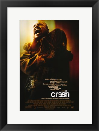 Framed Crash Holding Girl Print