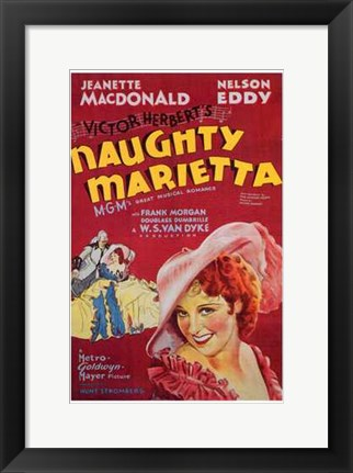 Framed Naughty Marietta Print