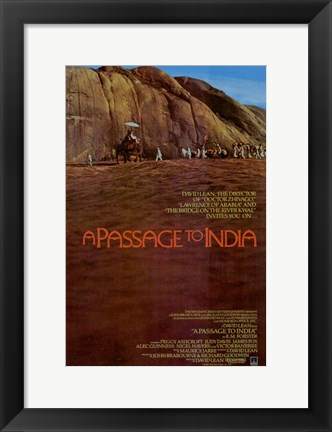 Framed Passage to India  a Print