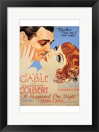 Framed it Happened One Night Print