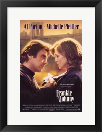 Framed Frankie Johnny Print