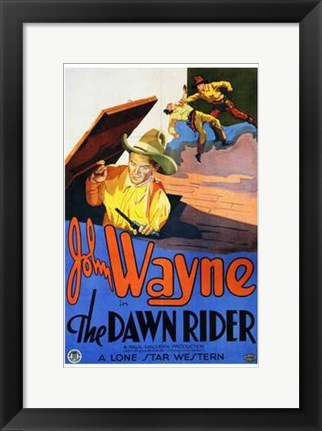 Framed Dawn Rider Print