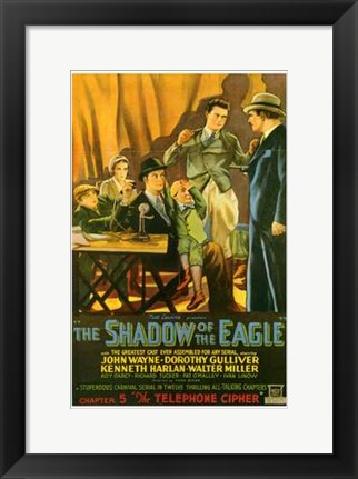 Framed Shadow of the Eagle Print