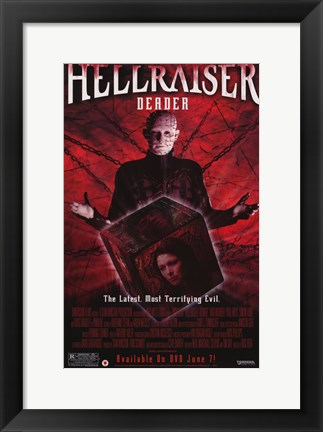 Framed Hellraiser: Deader Print