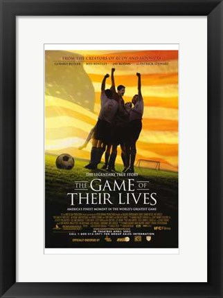 Framed Game of Their Lives Print