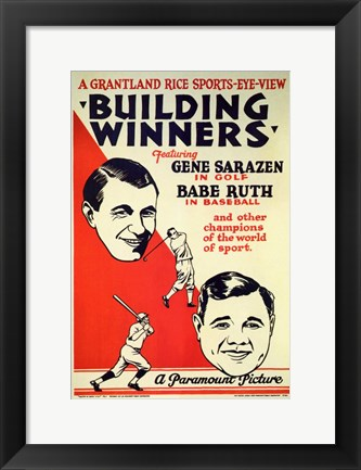Framed Building Winners Print