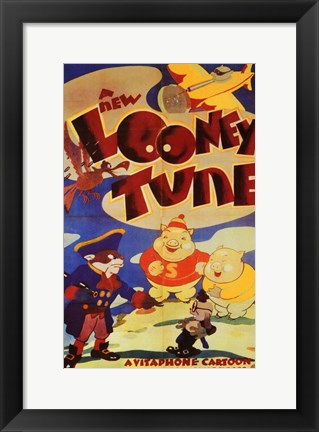 Framed New Looney Tune Print
