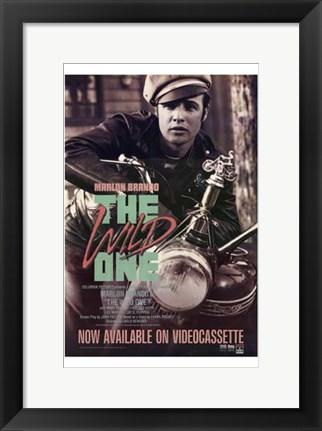 Framed Wild One - Marlon Print