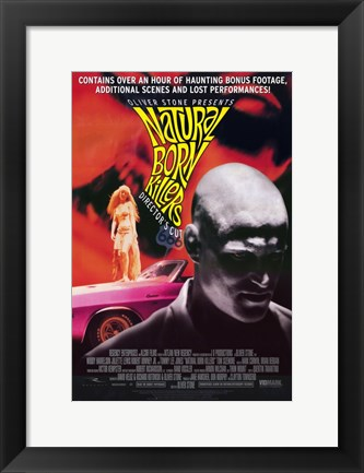 Framed Natural Born Killers Harrelson And Louis Print