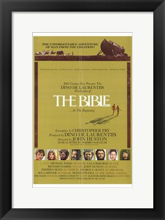 Framed Bible Print