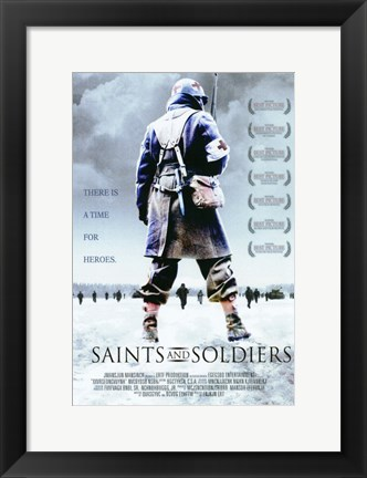 Framed Saints and Soldiers Print
