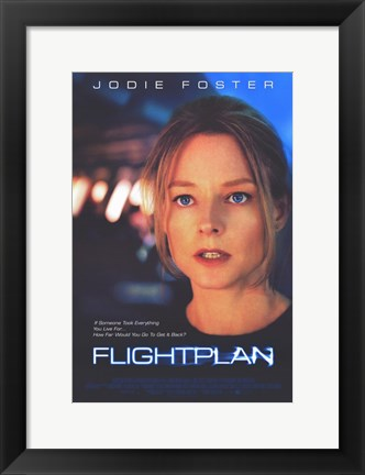 Framed Flightplan Print