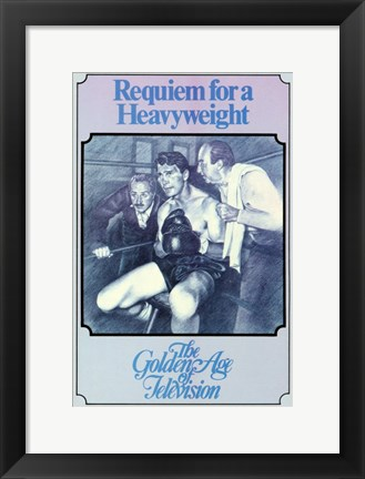 Framed Requiem for a Heavyweight Print
