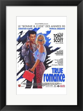 Framed True Romance - French Print