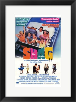Framed Shag  the Movie Print