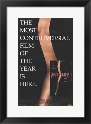 Framed Showgirls Controversial Print
