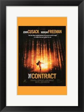 Framed Contract Print