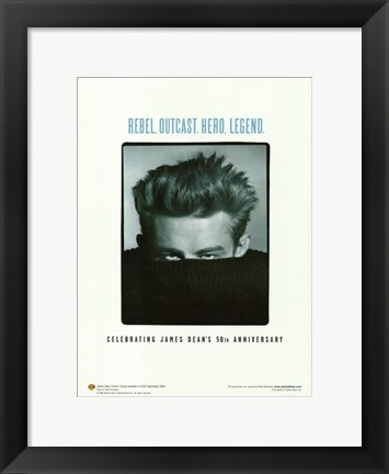 Framed James Dean Fest Print