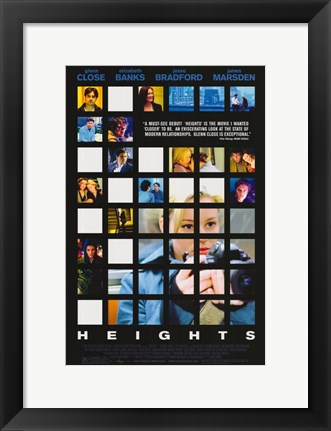 Framed Heights Print