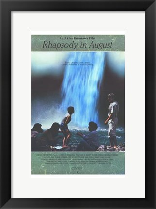 Framed Rhapsody in August Print