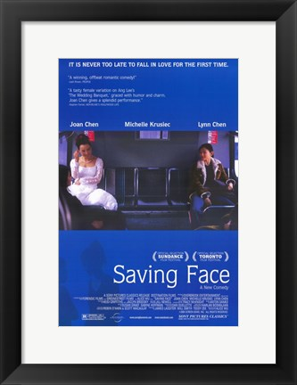 Framed Saving Face Print